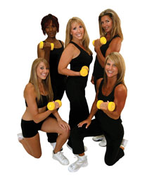 Body Sculpting, a balanced fitness workout that combines strength, flexibility, and aerobic endurance